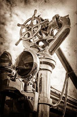 1952 L Model Mack Pumper Fire Truck Poster