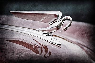 1952 Packard 400 Hood Ornament Poster by Jill Reger