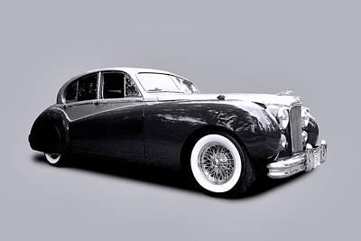 1953 Jaguar Mk Vii  Poster