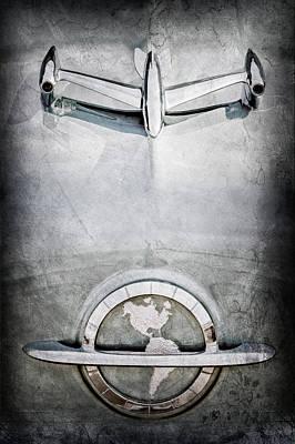 1954 Oldsmobile Super 88 Hood Ornament - Emblem Poster