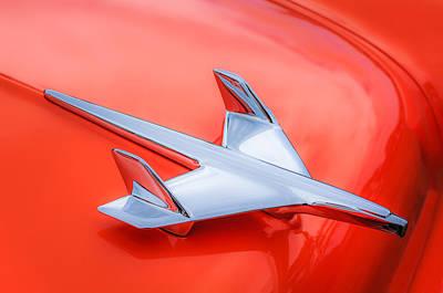 1955 Chevrolet 210 Resto Mod Hood Ornament Poster