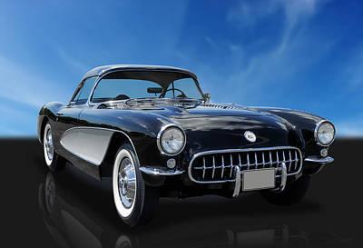 1956 Chevrolet Corvette Poster