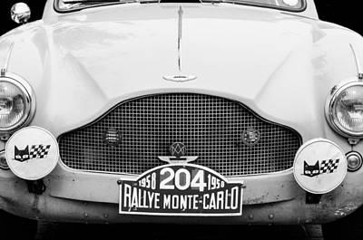 1957 Aston Martin 2-4 Mk IIi Prototype Lgw Poster by Jill Reger