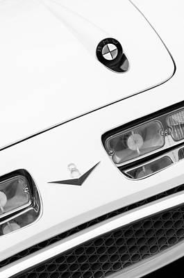 1957 Bmw 507 Loewy Pichon Et Parat Coupe Hood Emblem Poster