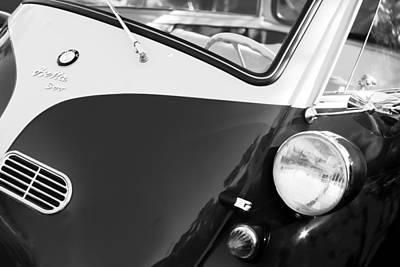 1957 Bmw Isetta 300  Poster by Jill Reger