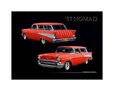1957 Chevrolet Nomad Poster by Jack Pumphrey