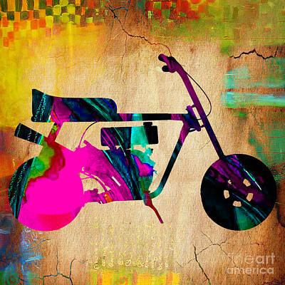 1960's Mini Bike Poster by Marvin Blaine