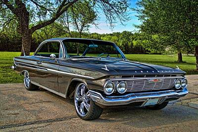1961 Chevrolet Impala Poster by Tim McCullough