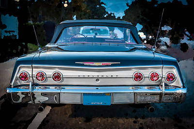 1962 Chevrolet Impala Ss Poster by Rich Franco