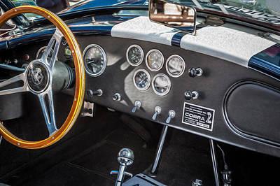 1966 Ford Ac Cobra 427 Big Block    Poster by Rich Franco