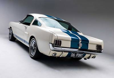 Poster featuring the photograph 1966 Mustang Gt350 by Gianfranco Weiss