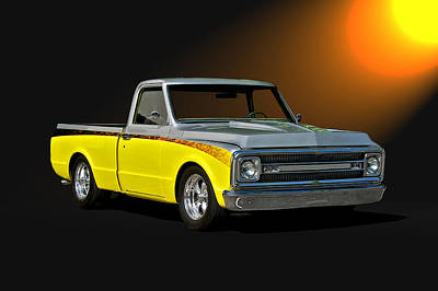 1969 Chevrolet C10 Pick Up Poster by Dave Koontz