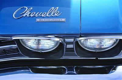 1969 Chevrolet Chevelle Emblem Poster by Jill Reger