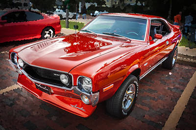 1970 Amc Javelin 401 Poster by Rich Franco