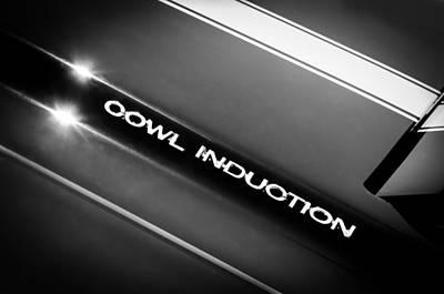 1970 Chevrolet Chevelle 454 Cowl Induction Hood Emblem Poster