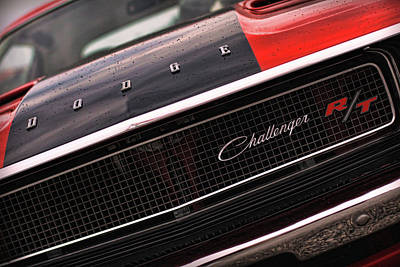 1970 Dodge Challenger Rt Poster by Gordon Dean II