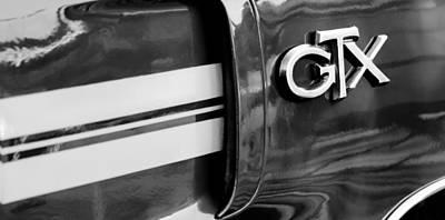 1970 Plymouth Gtx Emblem Poster by Jill Reger