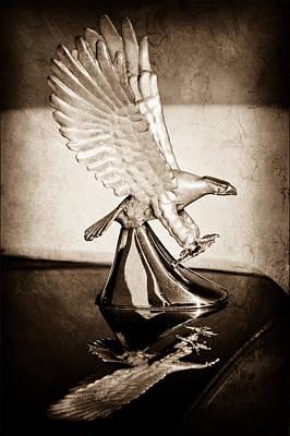 1986 Zimmer Golden Spirit Hood Ornament Poster by Jill Reger