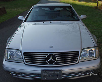 1999 Mercedes Sl500 Poster by James C Thomas