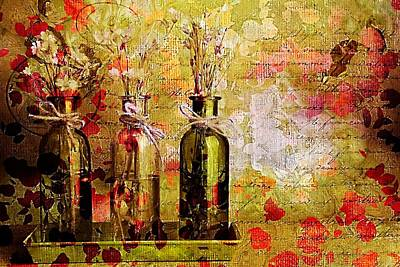 1-2-3 Bottles - S12a203 Poster