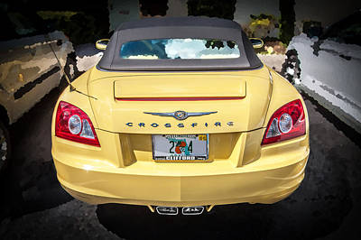 2008 Chrysler Crossfire Convertible  Poster
