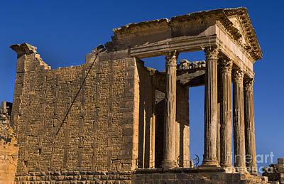 2nd Century Roman Ruins, Tunisia Poster