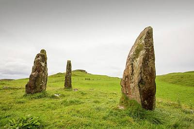 4000 Year Old Standing Stones Poster by Ashley Cooper
