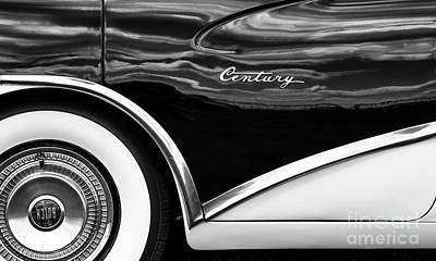 56 Buick Style Poster by Tim Gainey