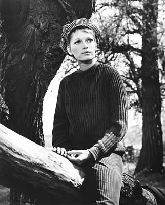A Dandy In Aspic, Mia Farrow, 1968 Poster