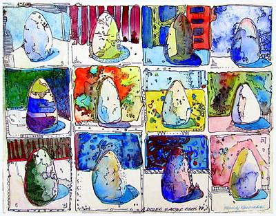 A Dozen Eggs Poster by Mindy Newman