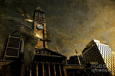 A Flight In Time Poster by Jorgo Photography - Wall Art Gallery