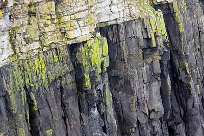 A Geological Unconformity Poster by Ashley Cooper