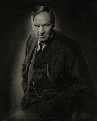A Portrait Of Clarence Darrow Poster by Nicholas Muray