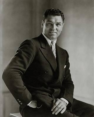 A Portrait Of Jack Dempsey Poster by Edward Steichen