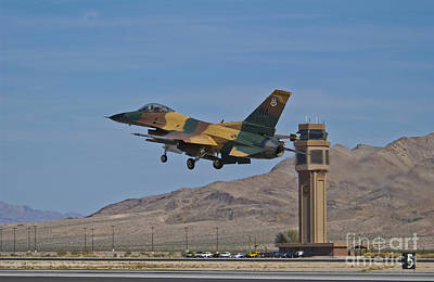 A U.s. Air Force F-16 Taking Poster by Scott Germain