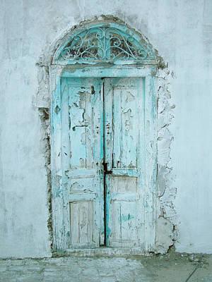 Abandoned Doorway Poster