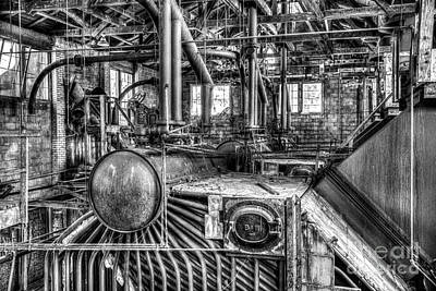 Abandoned Steam Plant Poster