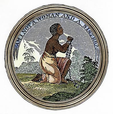 Abolition Emblem, 1837 Poster by Granger
