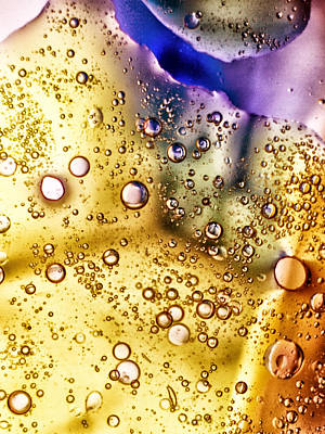 Abstract Bubbles Poster by Stelios Kleanthous