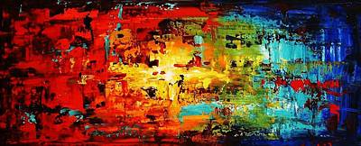 Abstract Large Painting Poster by Jolina Anthony