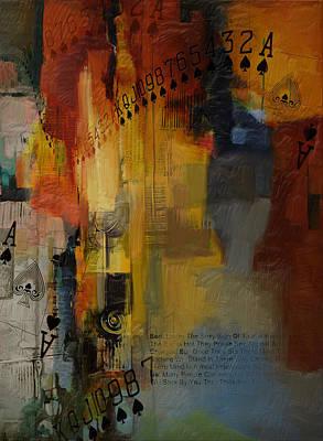 Abstract Tarot Art 013 Poster
