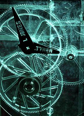 Acrylic Clock Design Poster