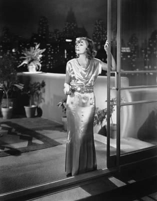 Actress Greta Garbo Poster