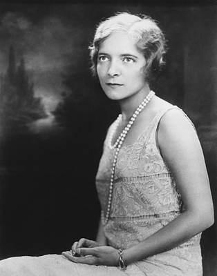 Actress Helen Hayes Poster by Underwood Archives
