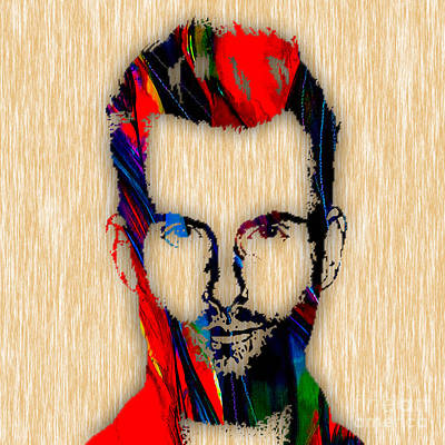 Adam Levine Maroon 5 Painting Poster by Marvin Blaine