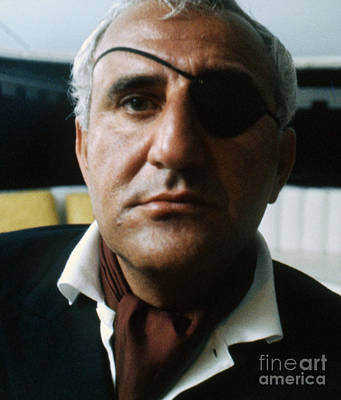 Adolfo Celi As Emilio Largo In Thunderball Poster by The Harrington Collection