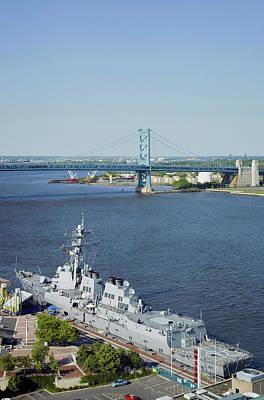 Aerial View Of Delaware River, Benjamin Poster