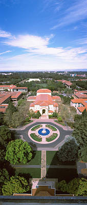 Aerial View Of Stanford University Poster by Panoramic Images