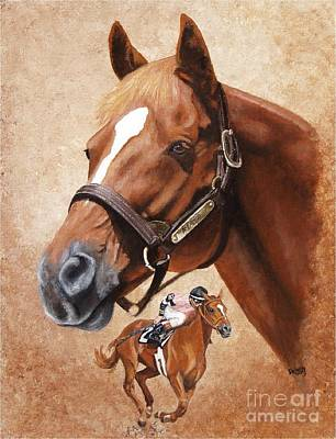 Affirmed Poster by Pat DeLong