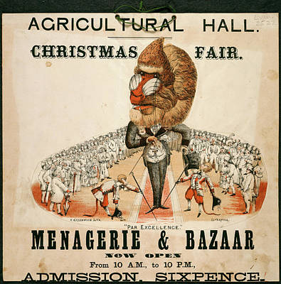 Agricultural Hall Poster by British Library